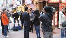 TVB全程記錄協會拍摄中港話題的短片