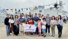 會員活動 | 明星艦靠泊香港,協會會員獲邀參觀